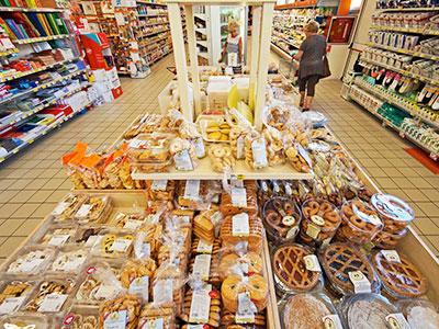 Supermercato alimentari