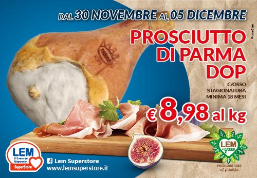 Prosciutto Parma Offerta